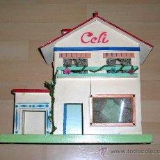 Casas de Muñecas: CELI CASA DE MUÑECAS FABRICADA EN MADERA POR LA CASA SENDRA DENIA, ORIGINAL AÑOS 50. EXCELENTE.. Lote 27292050