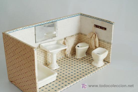 cuarto de baño, en madera y cerámica. principio - Comprar Casas de ...