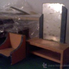 Casas de Muñecas - muebles antiguos muebles de juguete de madera para casa de muñecas - 18304769