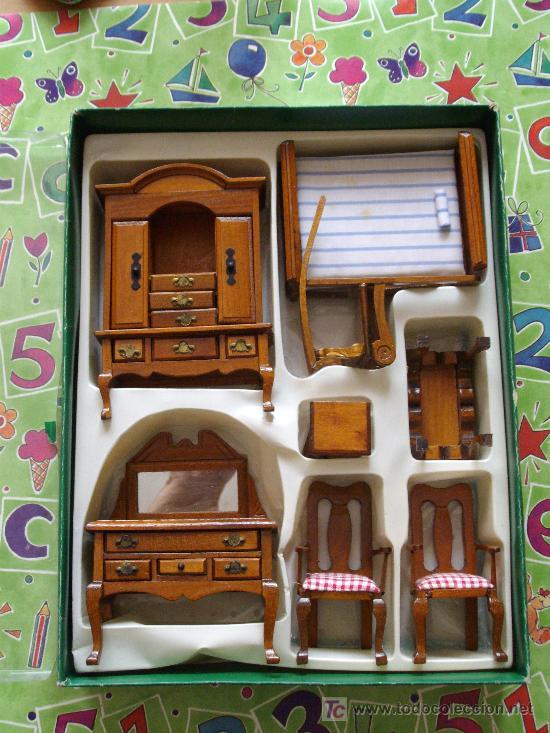 muebles para casa de muñeca - Comprar Casas de Muñecas, mobiliarios ...