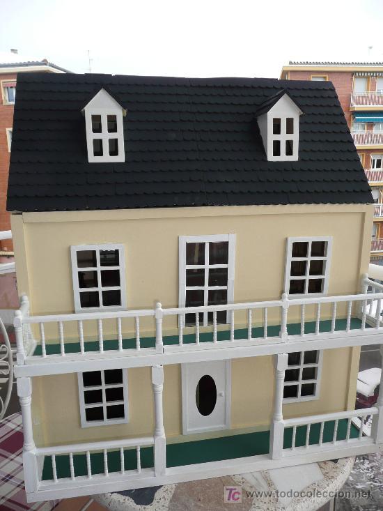 Casa De Mu U00f1ecas Estilo Victoriano  De Artesan U00eda