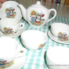 Doll houses - Juego café miniatura. Loza o porcelana? Incompleto. Para casa de muñecas. - 27174406