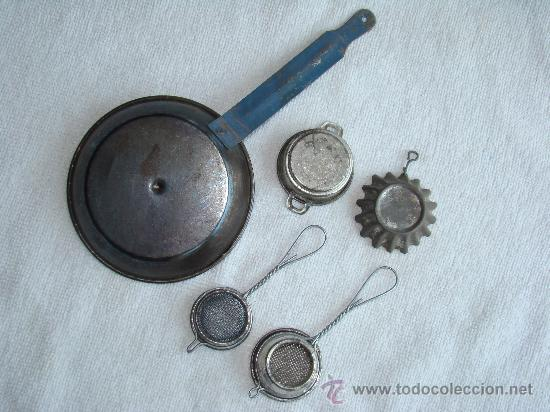 LOTE Nº 2 DE CACHARRITOS DE COCINA (Juguetes - Casas de Muñecas, mobiliarios y complementos)