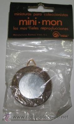 MINIATURAS PARA CASAS DE MUÑECA MINI-MON, ESPEJO (Juguetes - Casas de Muñecas, mobiliarios y complementos)