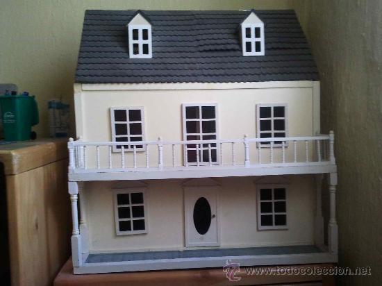 Casa de mu ecas en madera muebles y mu ecos d comprar casas de mu ecas mobiliarios y - Munecos para casa de munecas ...