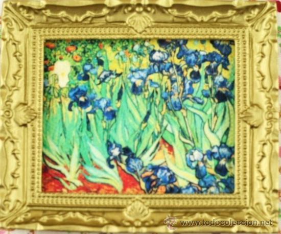 Cuadro Los Lirios De Van Gogh Miniatura Para Ca Vendido En Venta