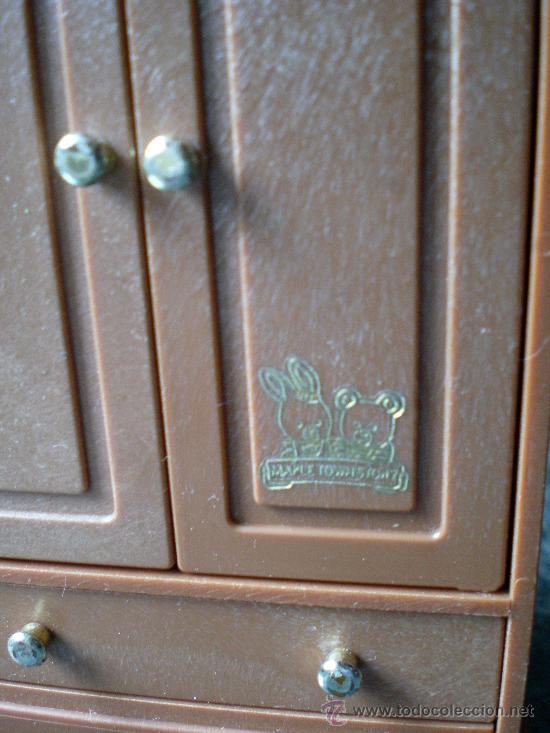 Casas de Muñecas: Cama y armario Bandai 1986 Maple Town Story Sylvanian Families - Foto 3 - 150968749
