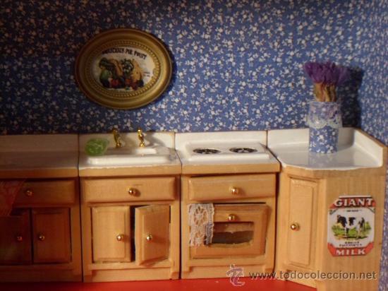 Miniaturas casa de mu ecas cocina completa comprar casas for Complementos casa