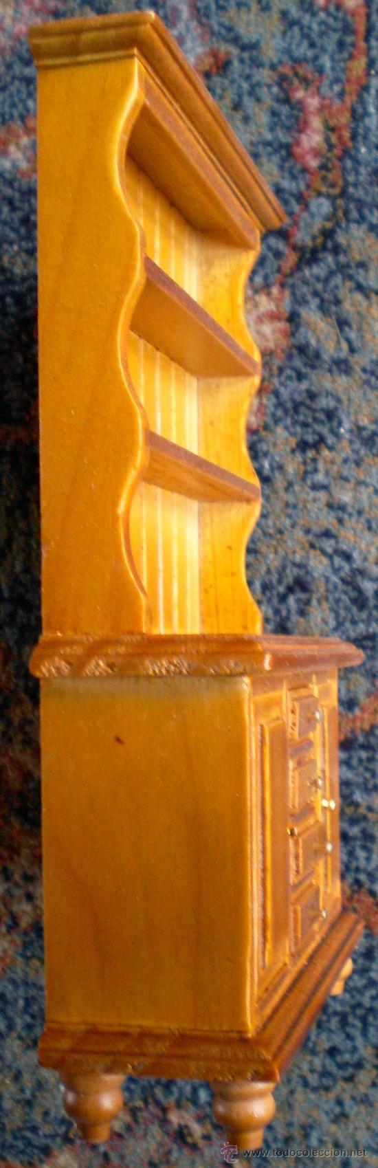 Casas de Muñecas: Armario alacena de madera para casas de muñecas - Foto 2 - 30573154