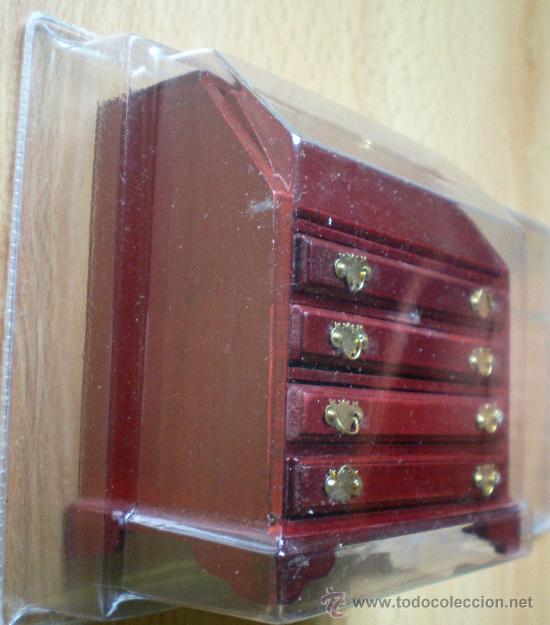 Casas de Muñecas: Mueble madera cajonera nuevo - Foto 2 - 31772010