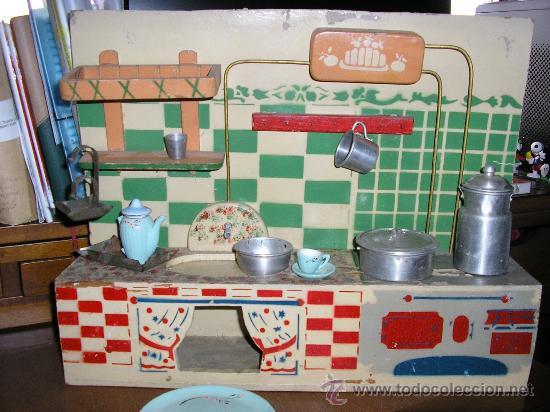 Gran cocina de madera de denia a os 50 comprar casas - Cocinas anos 50 ...