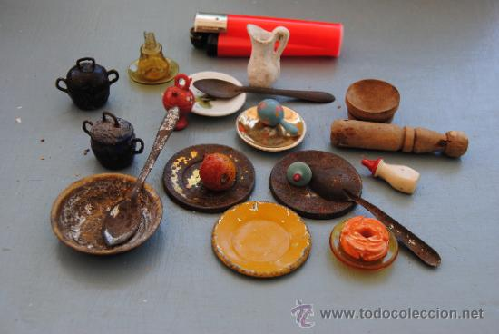 Antiguos complementos de casa de mu ecas cocin comprar for Complementos cocina