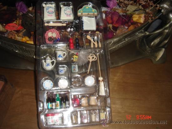 Estuche con muchos accesorios para casa de mu e comprar - Accesorios para casa de munecas ...