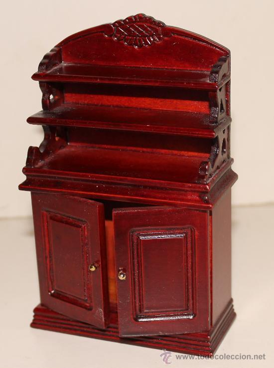 Mueble de madera miniatura para casa de mu ecas comprar casas de mu ecas mobiliarios y - Casas en miniatura de madera ...