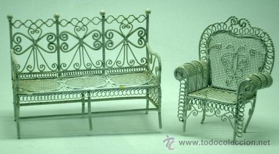 Muebles de jard n para casa mu ecas canap y bu comprar for Casa muebles jardin