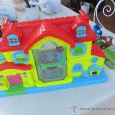 Casas de Muñecas: CASA DE MUÑECAS DE MATTEL CON MECANISMO DE LUCES. Lote 33328117