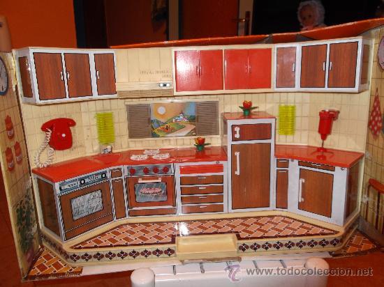 Cocinita de juguete de los 80 de rico comprar casas de for Cocinitas de juguete segunda mano