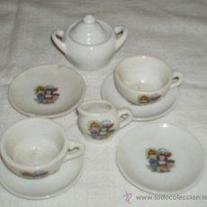 Doll houses - juego de desayuno en porcelana para casa de muñecas incompleto - 33486831