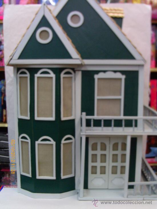 Casa de mu ecas en madera para comprar casas de mu ecas mobiliarios y - Casa de munecas you and me ...