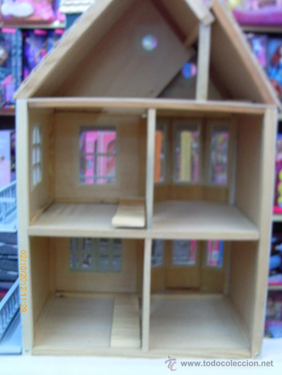 casa de muñecas en madera para montar.verde.68x - Comprar Casas de ...