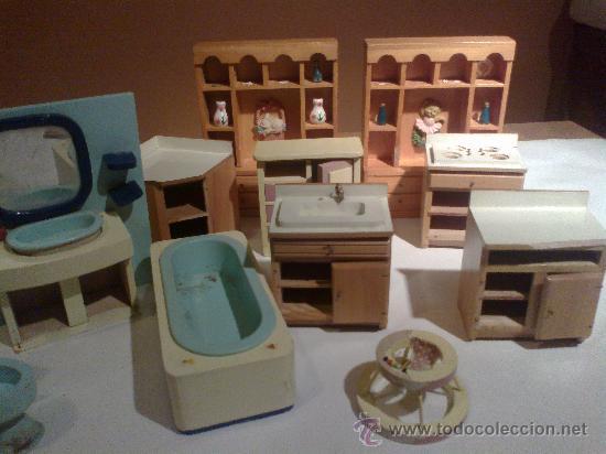 Muebles casa de mu ecas madera comprar casas de mu ecas for Muebles casa de munecas