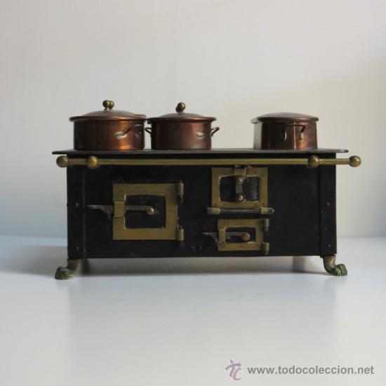 Cocina De Hierro | Cocina De Munecas De Hierro Fundido 1880 190 Comprar Casas De