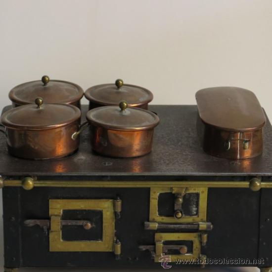Cocina de mu ecas de hierro fundido 1880 190 comprar for Cocinas de hierro fundido
