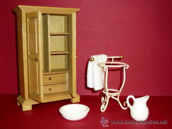 Armario y accesorios para casa de mu ecas en ma comprar - Accesorios para casa de munecas ...