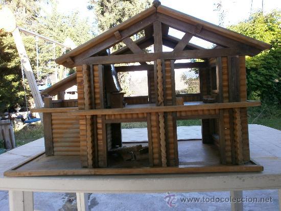Maqueta Casa De Madera Para Reparar Vendido En Venta Directa
