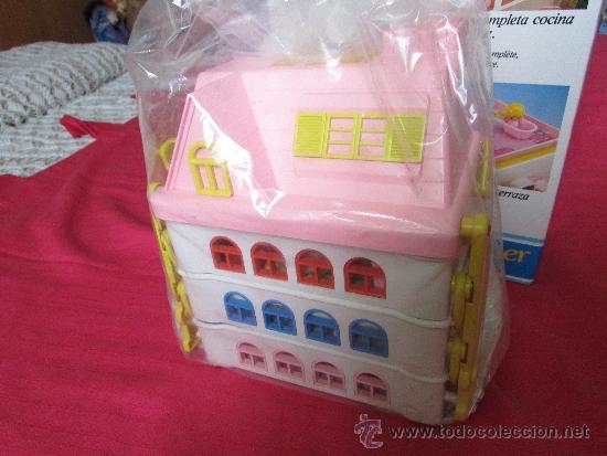 La ultima family feber casa con mobiliario comprar for Casa de juguetes para jardin de segunda mano
