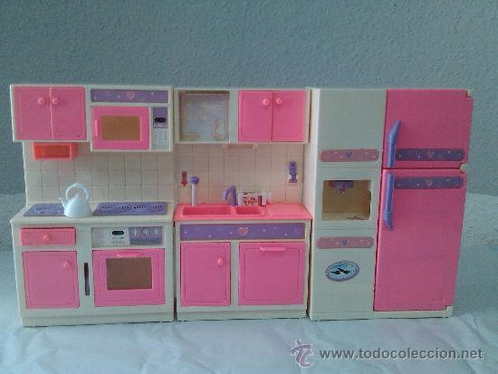 Antigua cocina de 3 modulos para mu eca barbie comprar - Modulos para cocina ...