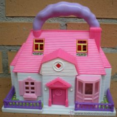 Casas de Muñecas: CASA MINIATURA MUÑECA HELLO KITTY BLUE BOX. Lote 38024323