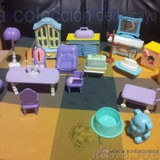 Doll houses - LOTE MUEBLES CASA CASITA DE MUÑECAS - 39227680