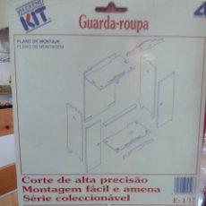 Casas de Muñecas: ARMARIO PARA MONTAR ESCALA 1/12 DE ARTESANIA LATINA NUEVO. Lote 39681685