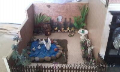 Casas de Muñecas: Espectacular casa de muñecas,completa no le falta detalle,con luces funcionando. Años 70. Ver fotos - Foto 5 - 39779710