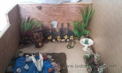 Casas de Muñecas: Espectacular casa de muñecas,completa no le falta detalle,con luces funcionando. Años 70. Ver fotos - Foto 6 - 39779710