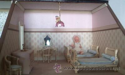 Casas de Muñecas: Espectacular casa de muñecas,completa no le falta detalle,con luces funcionando. Años 70. Ver fotos - Foto 17 - 39779710