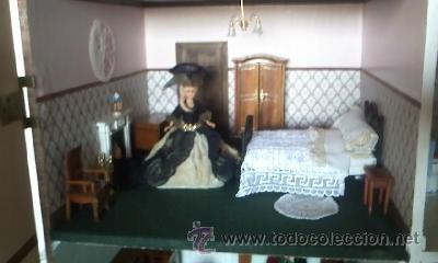 Casas de Muñecas: Espectacular casa de muñecas,completa no le falta detalle,con luces funcionando. Años 70. Ver fotos - Foto 18 - 39779710