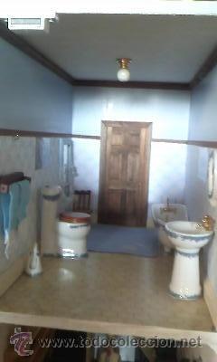 Casas de Muñecas: Espectacular casa de muñecas,completa no le falta detalle,con luces funcionando. Años 70. Ver fotos - Foto 19 - 39779710