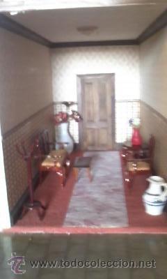 Casas de Muñecas: Espectacular casa de muñecas,completa no le falta detalle,con luces funcionando. Años 70. Ver fotos - Foto 27 - 39779710
