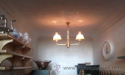 Casas de Muñecas: Espectacular casa de muñecas,completa no le falta detalle,con luces funcionando. Años 70. Ver fotos - Foto 33 - 39779710