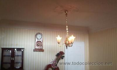 Casas de Muñecas: Espectacular casa de muñecas,completa no le falta detalle,con luces funcionando. Años 70. Ver fotos - Foto 35 - 39779710