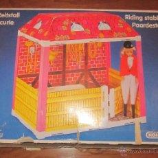 Casas de Bonecas: ESTABLO DE MUÑECA TAMAÑO BARBIE Y SINDY,KOHLER,CAJA ORIGINAL,AÑOS 80. Lote 40161032