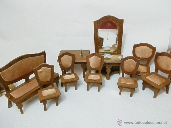 A o 1900 muebles madera de casa de mu ecas ta comprar for Muebles el tresillo