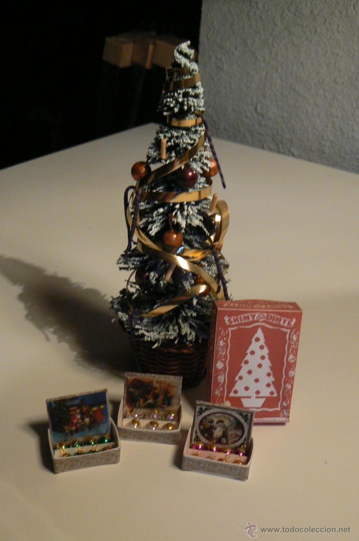 arbol de navidad para casa de muecas