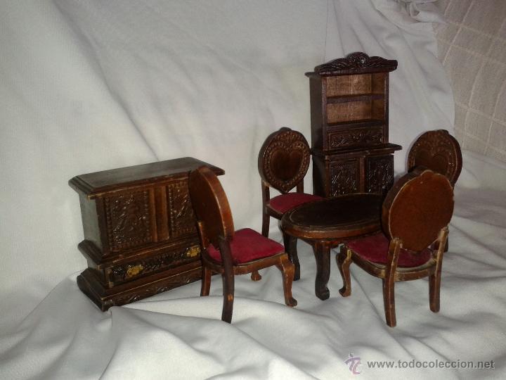 muebles antiguos comedor de madera maciza princ - Comprar Casas de ...