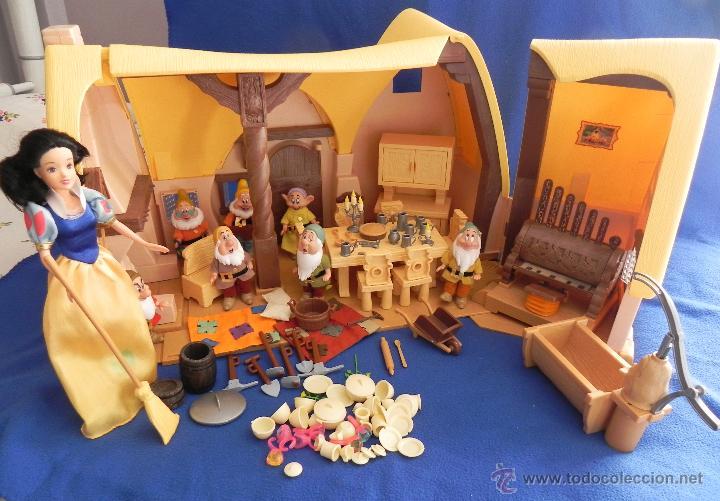 Antigua casa de blancanieves y los siete ena comprar casas de mu ecas mobiliarios y - Casa blancanieves simba ...