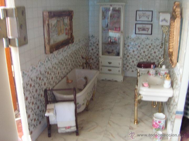 Casas de Muñecas: Casa de muñecas colonial 60cmx65cm altox38cm de fondo con muebles - Foto 5 - 42905158
