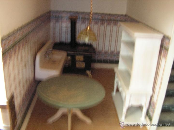Casas de Muñecas: Casa de muñecas colonial 60cmx65cm altox38cm de fondo con muebles - Foto 8 - 42905158