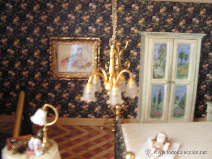Casas de Muñecas: Casa de muñecas colonial 60cmx65cm altox38cm de fondo con muebles - Foto 9 - 42905158